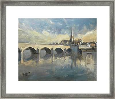 Sint Servaas Bridge Maastricht Framed Print