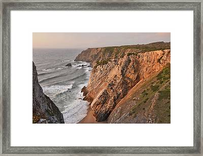 Framed Print featuring the photograph Sintra Portugal Coast by Marek Stepan