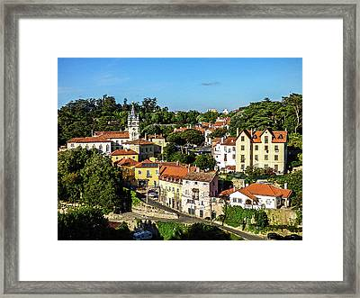 Sintra - The Most Romantic Village Of Portugal Framed Print