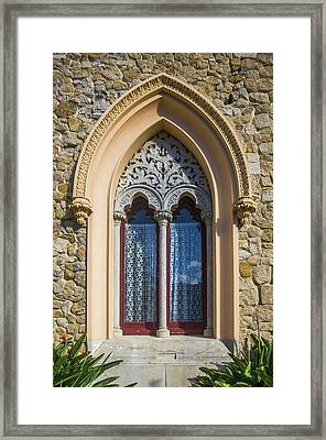 Framed Print featuring the photograph Sintra Window by Carlos Caetano