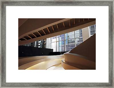 Sinuous Staircase Framed Print by Jessica Jenney