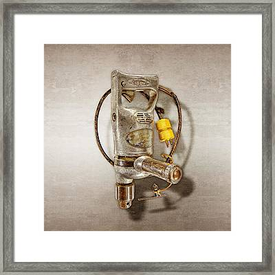Sioux Drill Motor 1/2 Inch Framed Print by YoPedro