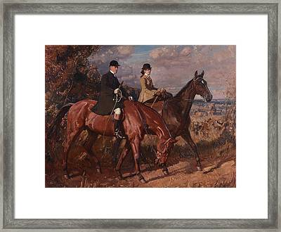 Sir Alfred James Munnings Framed Print