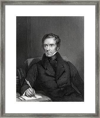 Sir Benjamin Collins Brodie 1783 To Framed Print