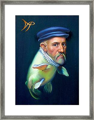 Sir Carpio Diem Framed Print by Patrick Anthony Pierson