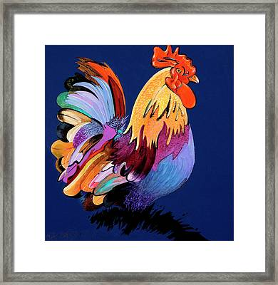 Sir Chanticleer Framed Print by Bob Coonts