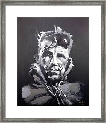 Sir Edmund Hillary Framed Print
