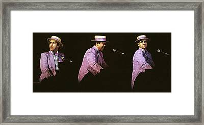 Sir Elton John 3 Framed Print