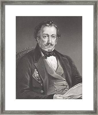 Sir Henry Eldred Curwen Pottinger 1st Framed Print by Vintage Design Pics