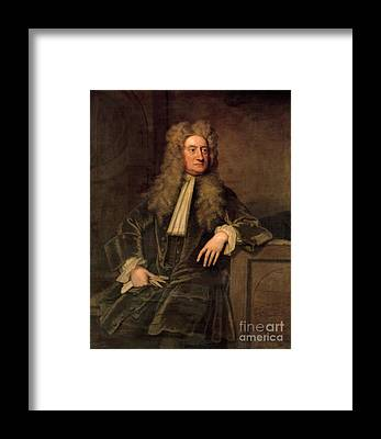 Isaac Newton Framed Prints