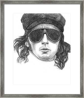 Sir Jackie Stewart Framed Print