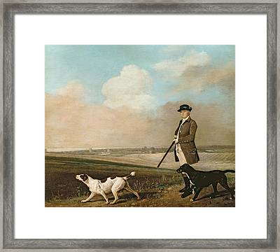 Sir John Nelthorpe Framed Print by George Stubbs