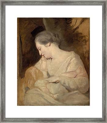 Sir Joshua Reynold Framed Print by MotionAge Designs