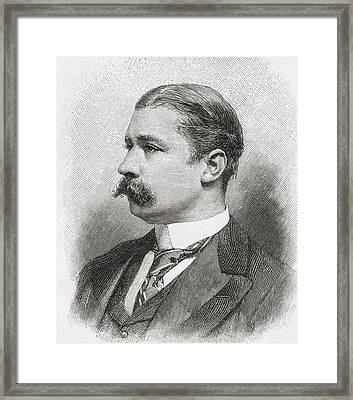 Sir Leslie Matthew Ward, 1851 Framed Print