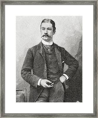 Sir Leslie Matthew Ward, Aged 31, 1851 Framed Print