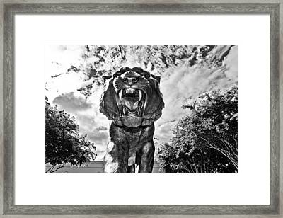 Sir Mike Framed Print by Scott Pellegrin