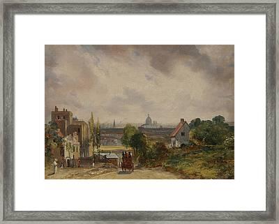 Sir Richard Steele's Cottage Framed Print