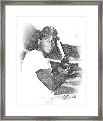 Rod Carew Framed Print