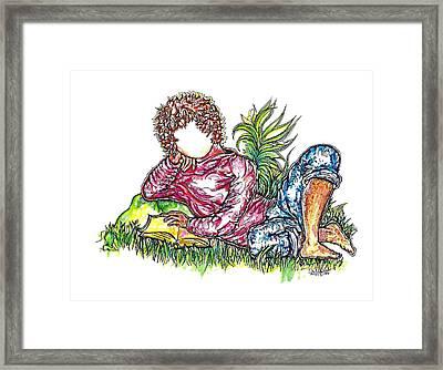 Sir Sage Framed Print by Judith Herbert