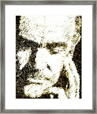 Sir Sean Framed Print