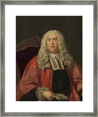 Sir William Blackstone 1723-1780 Framed Print by Everett