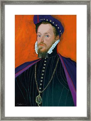 Sir William Cary 1437-1471 Framed Print by Craig Nelson