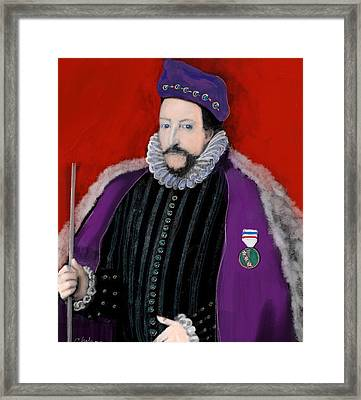 Sir William Cary  Framed Print by Craig Nelson