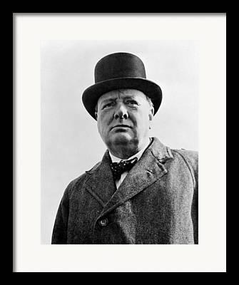 English Prime Ministers Framed Prints