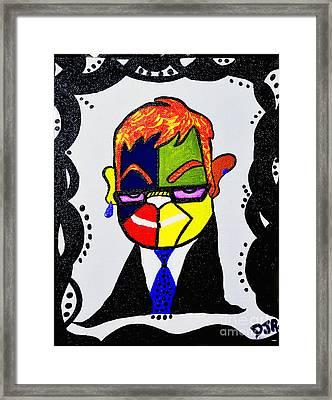Sir,elton  Framed Print by Davids Digits