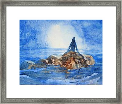 Siren Song Framed Print by Marilyn Jacobson