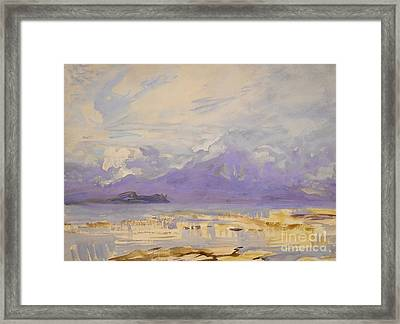 Sirmione, 1913 Framed Print by John Singer Sargent