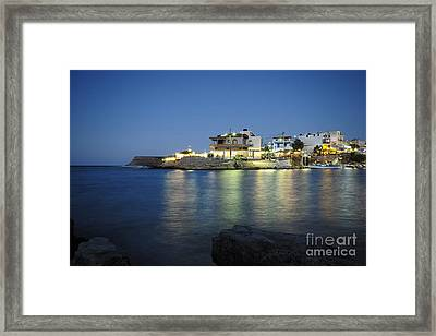 Sissi, Crete Framed Print