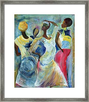 Sister Act Framed Print by Ikahl Beckford