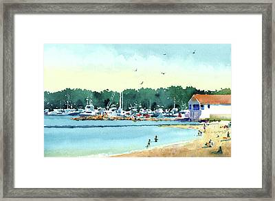 Sister Bay, Door County Framed Print