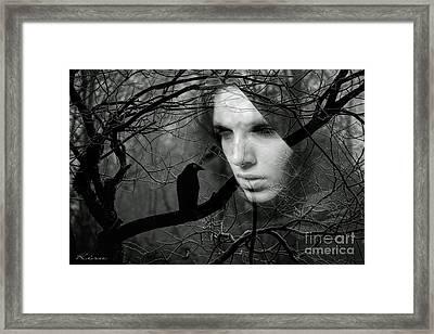 Sister Raven Framed Print