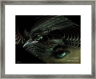 Sister Raven Series - 2 Framed Print