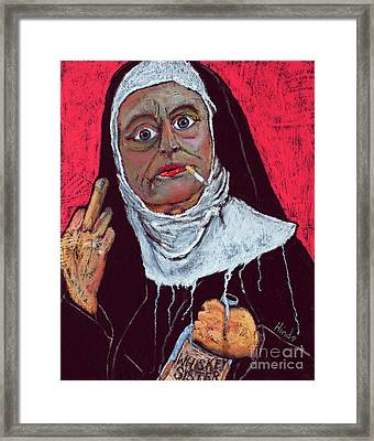 Sister Sara Framed Print by David Hinds