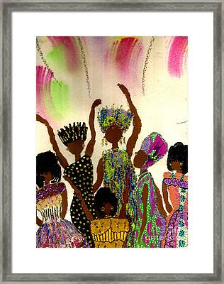 Sisterhood Framed Print by Angela L Walker