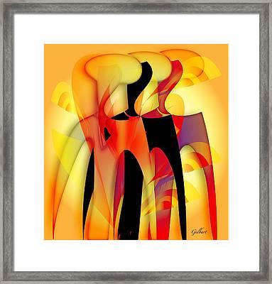 Sisters 4 Framed Print