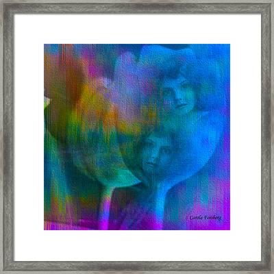 Sisters Framed Print by Carola Ann-Margret Forsberg