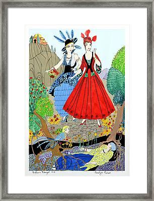 Sisters Framed Print by Carolynn Fischel