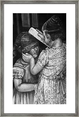 Sisters Framed Print by Curtis James