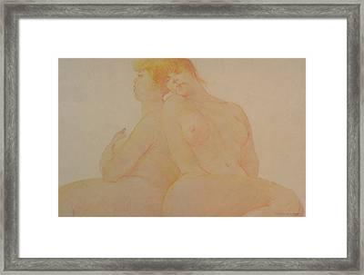 Sisters Framed Print by Gary Kaemmer