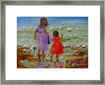 Sisters Framed Print by Inna Montano