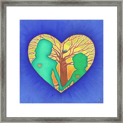 Sisters Framed Print by Lisa Kretchman