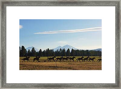 Sisters Oregon Framed Print
