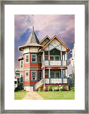Sisters Panel Two Of Triptych Framed Print by Steve Karol