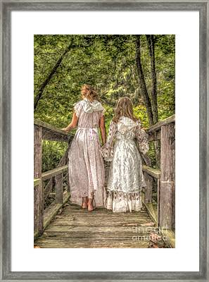 Sisters Framed Print by Randy Steele