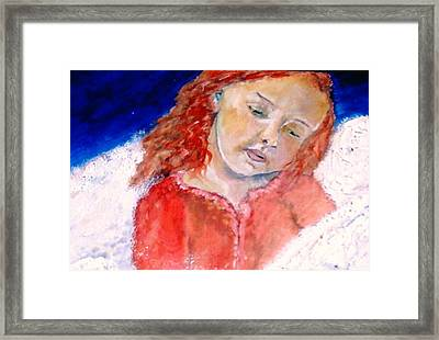 watching the Dreamers Framed Print by J Bauer