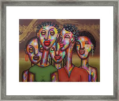 Sistren Framed Print